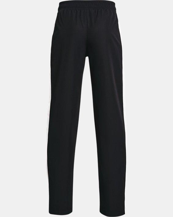 Boys' UA Woven Track Pants, Black, pdpMainDesktop image number 1