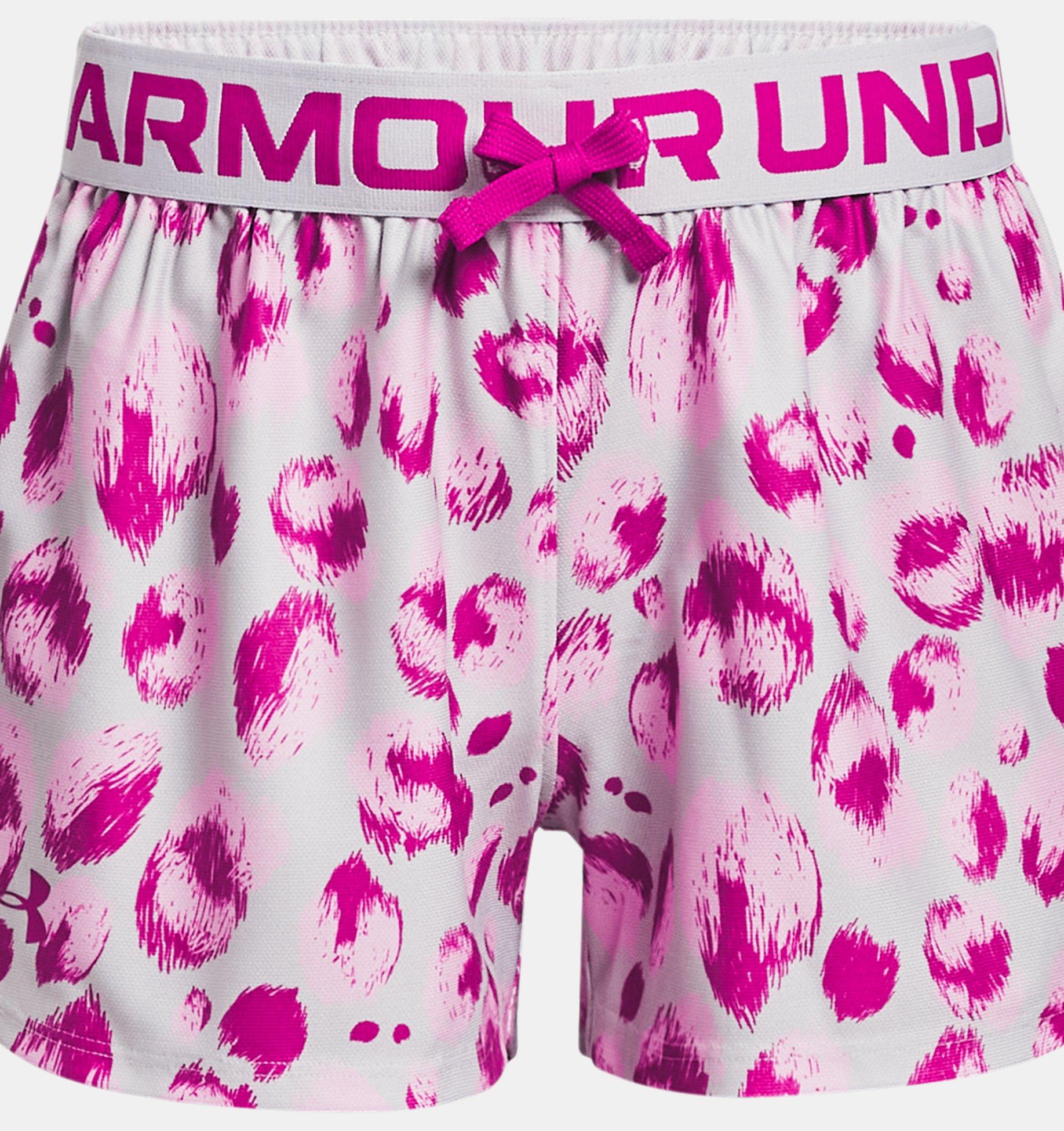 Underarmour Girls UA Play Up Printed Shorts