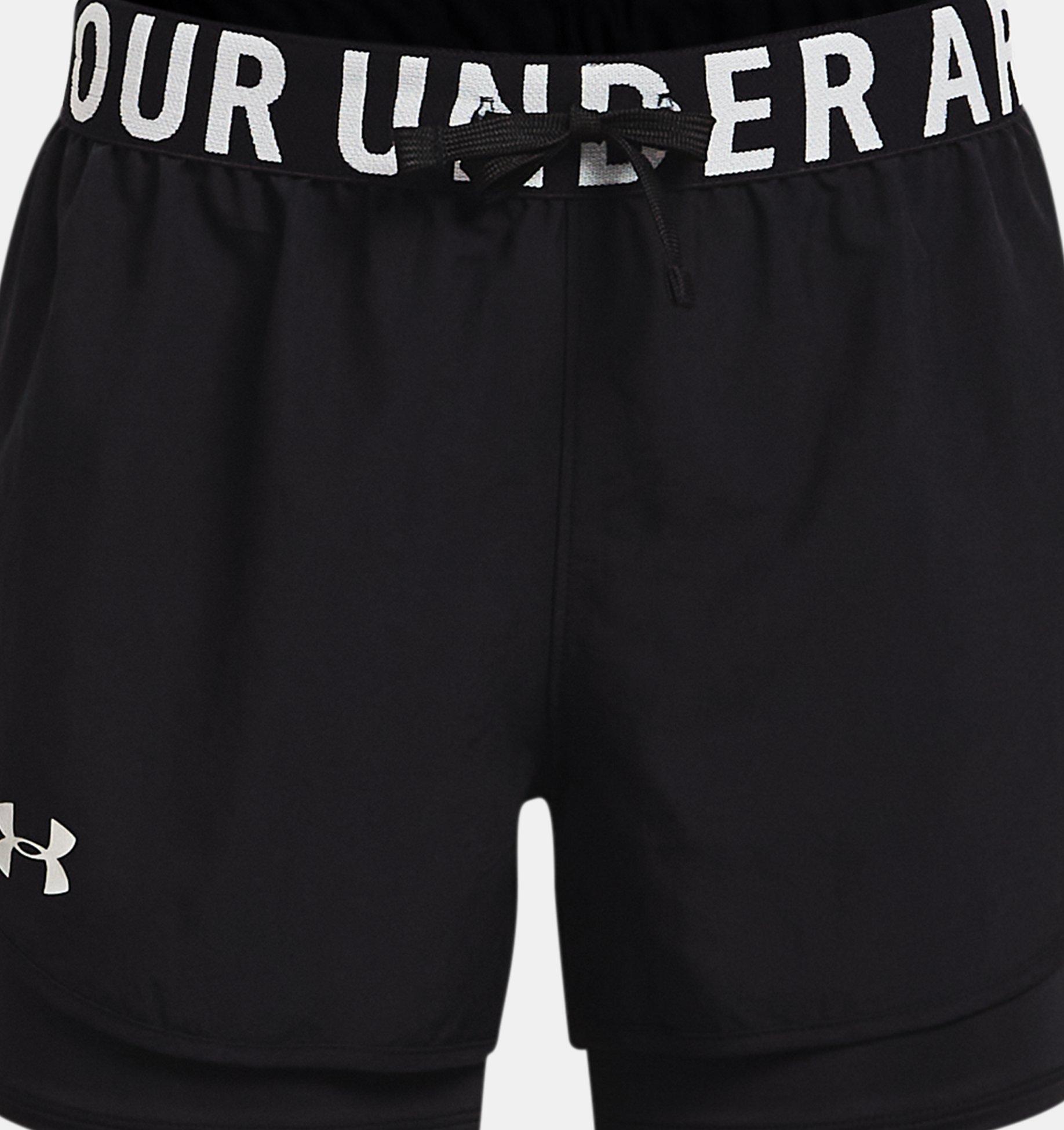 Underarmour Girls HeatGear Armour 2-in-1 Shorts