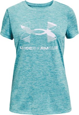 Under Armour Girls Born with It Short Sleeve Tee