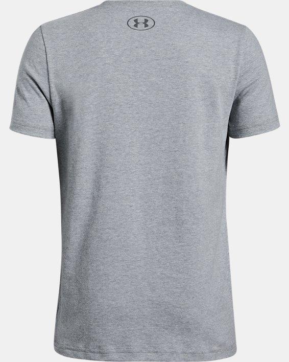 Boys' UA Fast Short Sleeve, Gray, pdpMainDesktop image number 1
