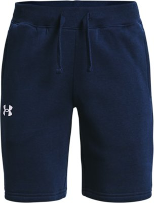 New Under Armour UA Men/'s Rival Exploded Shorts Blue