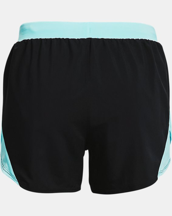 Women's UA Fly-By 2.0 GRD Shorts, Black, pdpMainDesktop image number 5