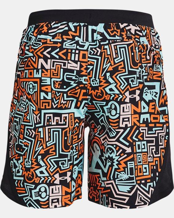 "Men's UA Launch 7"" GRD Shorts, Black, pdpMainDesktop image number 5"