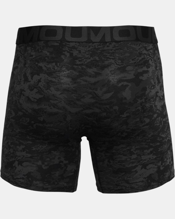 "Men's Charged Cotton® 6"" Boxerjock® – 3-Pack, Black, pdpMainDesktop image number 3"
