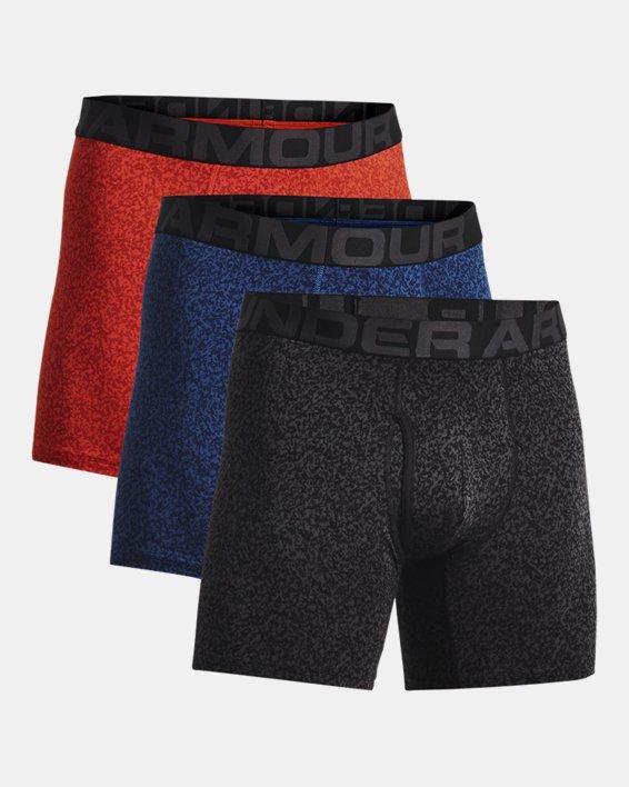 "Men's Charged Cotton® 6"" Boxerjock® – 3-Pack, Blue, pdpMainDesktop image number 2"