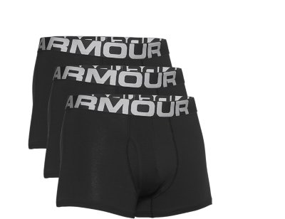 Under Armour mens Charged Cotton 6-inch Boxerjock 3-Pack