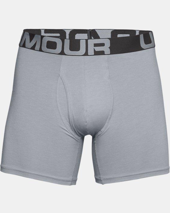 "Men's Charged Cotton® 6"" Boxerjock® – 3-Pack, Gray, pdpMainDesktop image number 2"