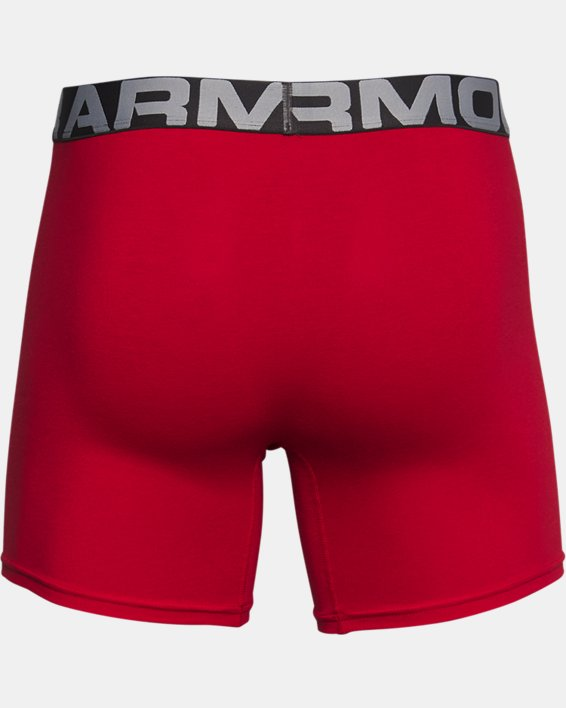 "Men's Charged Cotton® 6"" Boxerjock® – 3-Pack, Red, pdpMainDesktop image number 3"