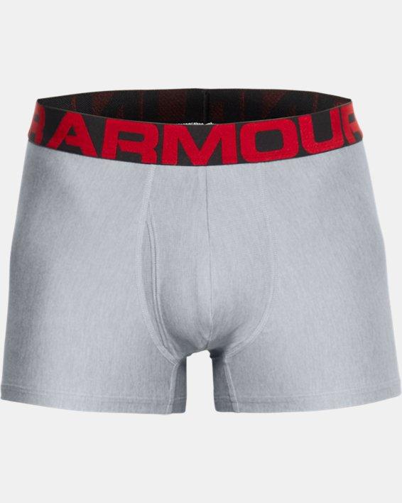 "Men's UA Tech™ 3"" Boxerjock® – 2-Pack, Gray, pdpMainDesktop image number 2"