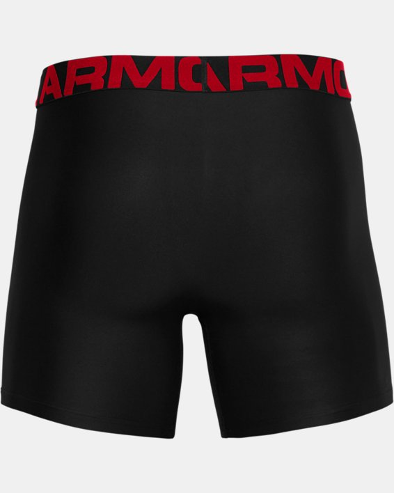 "Men's UA Tech™ 6"" Boxerjock® – 3-Pack, Black, pdpMainDesktop image number 3"