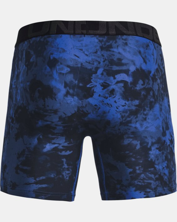 "Men's UA Tech™ 6"" Boxerjock® – 2-Pack, Blue, pdpMainDesktop image number 4"
