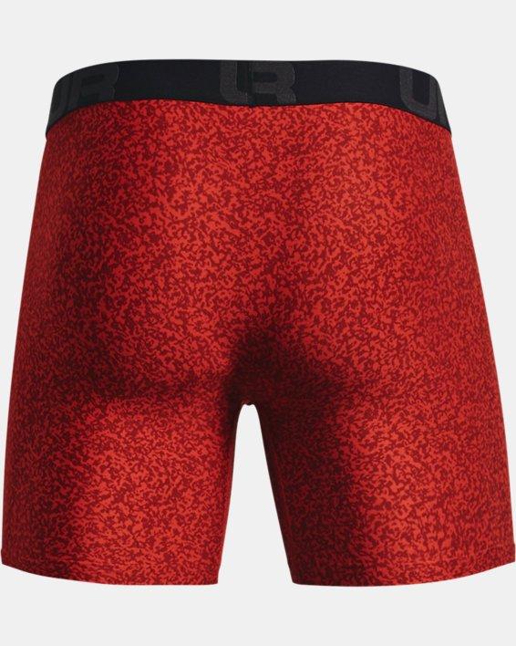 "Men's UA Tech™ 6"" Boxerjock® – 2-Pack, Orange, pdpMainDesktop image number 4"