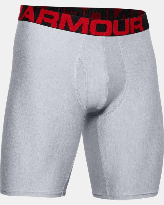 "Men's UA Tech™ 9"" Boxerjock® – 2-Pack, Gray, pdpMainDesktop image number 4"