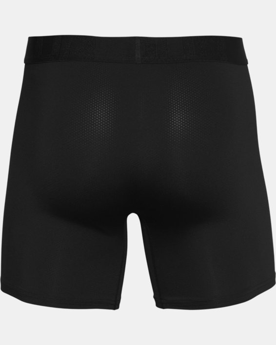 "Men's UA Tech™ Mesh 6"" Boxerjock® – 2-Pack, Black, pdpMainDesktop image number 4"