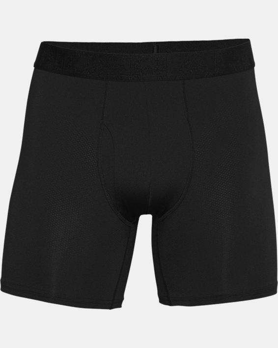 "Men's UA Tech™ Mesh 6"" Boxerjock® – 2-Pack, Black, pdpMainDesktop image number 3"