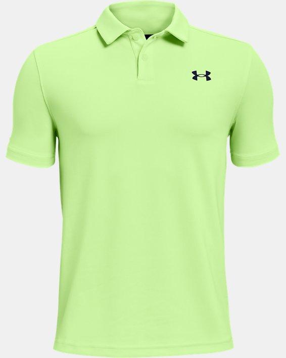 Boys' UA Performance Polo, Green, pdpMainDesktop image number 0