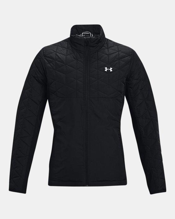 Men's ColdGear® Reactor Golf Hybrid Jacket, Black, pdpMainDesktop image number 7