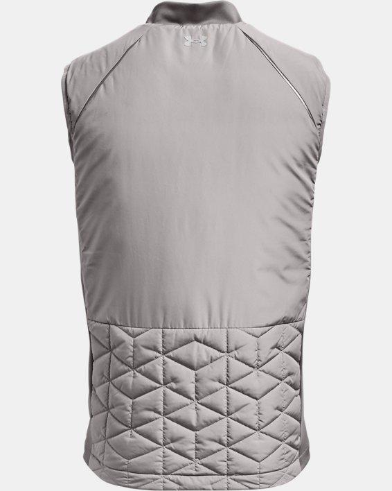 Men's ColdGear® Reactor Golf Vest, Gray, pdpMainDesktop image number 8
