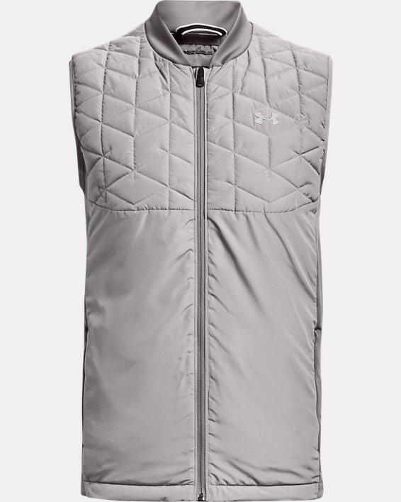 Men's ColdGear® Reactor Golf Vest, Gray, pdpMainDesktop image number 7