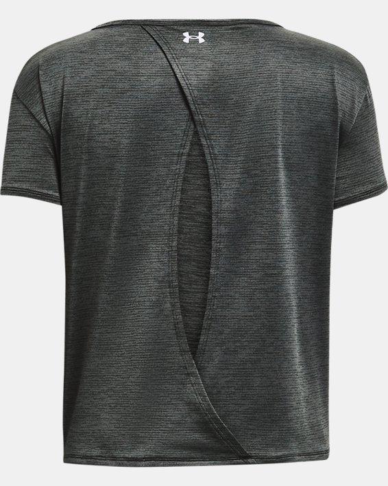 Women's UA Tech™ Vent Short Sleeve, Black, pdpMainDesktop image number 5