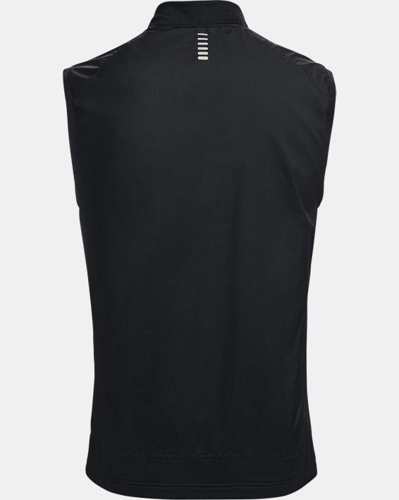 Men's UA Run Insulate Vest, Black, pdpMainDesktop image number 1