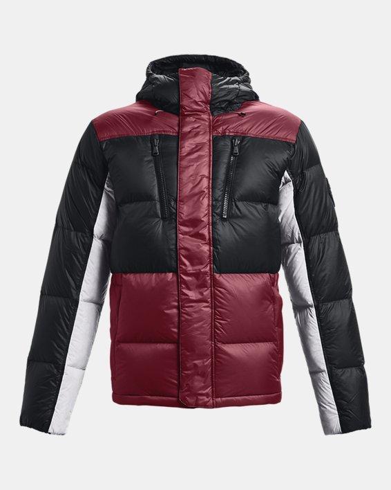 Men's ColdGear® Infrared Down Blocked Jacket, Red, pdpMainDesktop image number 6