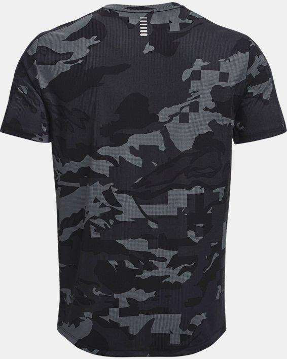 Men's UA Speed Stride Printed Short Sleeve, Black, pdpMainDesktop image number 4
