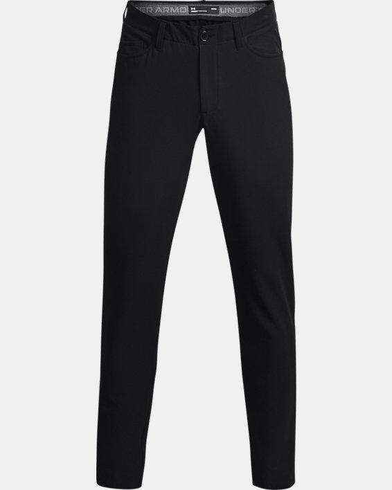 Men's UA Drive 5 Pocket Pants, Black, pdpMainDesktop image number 4