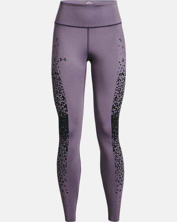 Women's UA RUSH™ No-Slip Waistband Full-Length Leggings, Gray, pdpMainDesktop image number 6