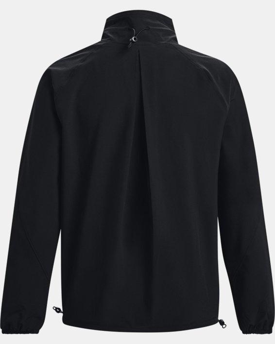 Women's UA RUSH™ Woven Jacket, Black, pdpMainDesktop image number 5