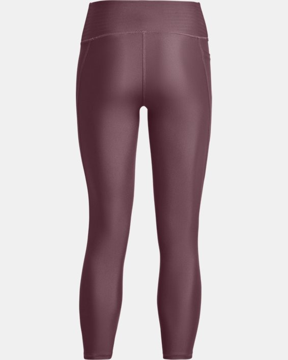Dameslegging HeatGear® Armour No-Slip Waistband Ankle, Purple, pdpMainDesktop image number 5