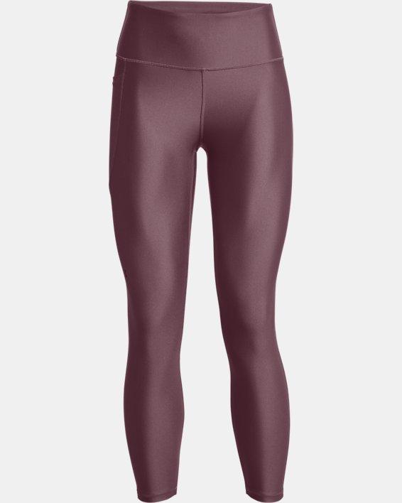 Dameslegging HeatGear® Armour No-Slip Waistband Ankle, Purple, pdpMainDesktop image number 4