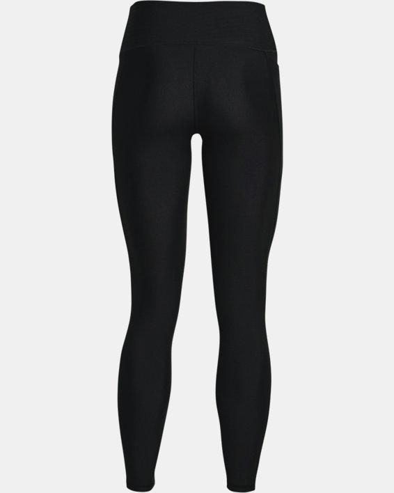 Women's HeatGear® Armour No-Slip Waistband Full-Length Leggings, Black, pdpMainDesktop image number 5
