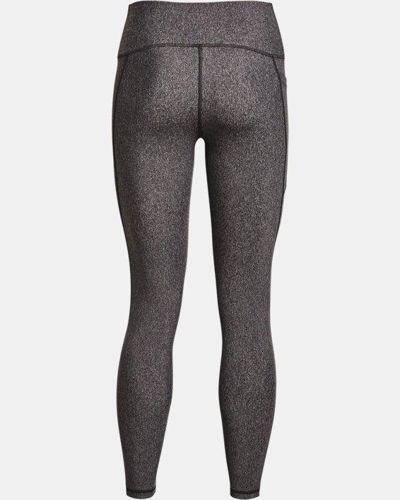 Women's HeatGear® Armour No-Slip Waistband Full-Length Leggings, Gray, pdpMainDesktop image number 3