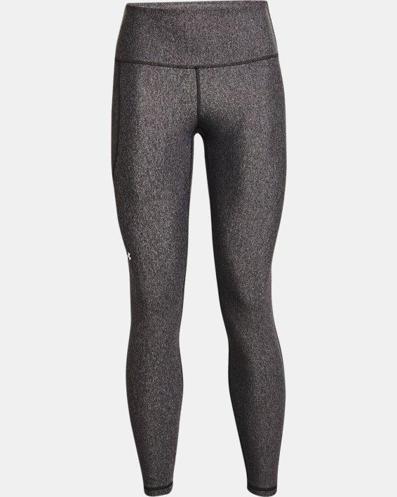 Women's HeatGear® Armour No-Slip Waistband Full-Length Leggings, Gray, pdpMainDesktop image number 2