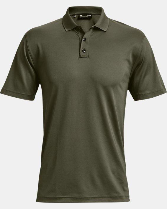 Men's UA Tactical Performance Polo 2.0, Green, pdpMainDesktop image number 4