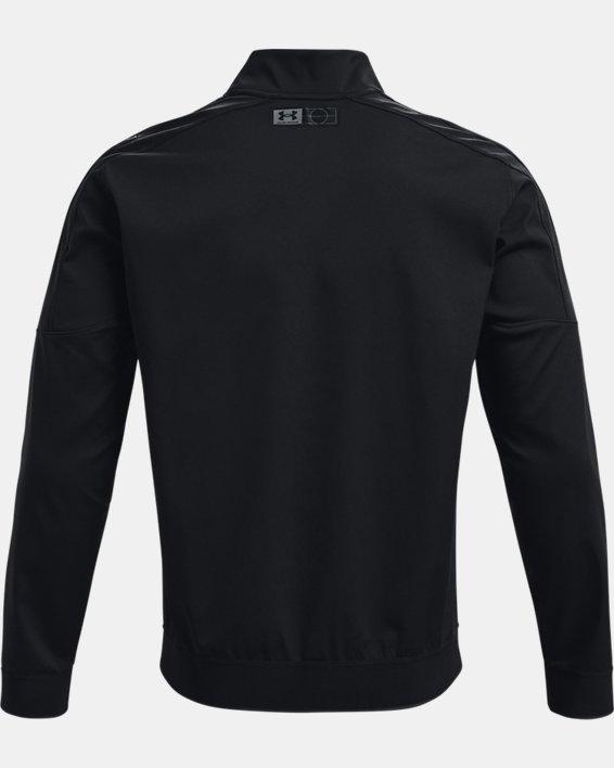 Men's UA Accelerate Bomber Jacket, Black, pdpMainDesktop image number 5