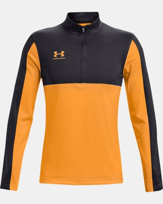 Men's UA Challenger Midlayer, Orange, pdpMainDesktop image number 4