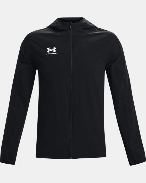 Men's UA Challenger Storm Shell Jacket, Black, pdpMainDesktop image number 3
