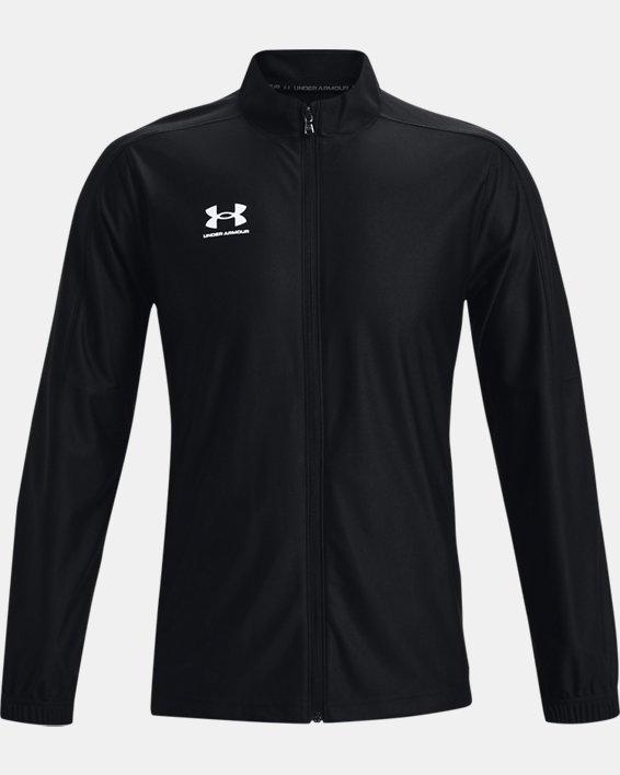 Men's UA Challenger Track Jacket, Black, pdpMainDesktop image number 4
