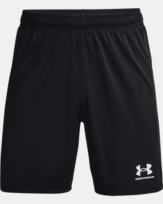 Men's UA Challenger Knit Shorts, Black, pdpMainDesktop image number 4