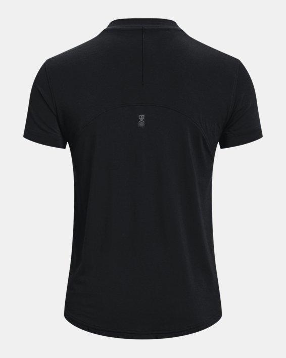 Women's UA Greatest (Tee) Ever V-Neck Short Sleeve, Black, pdpMainDesktop image number 6