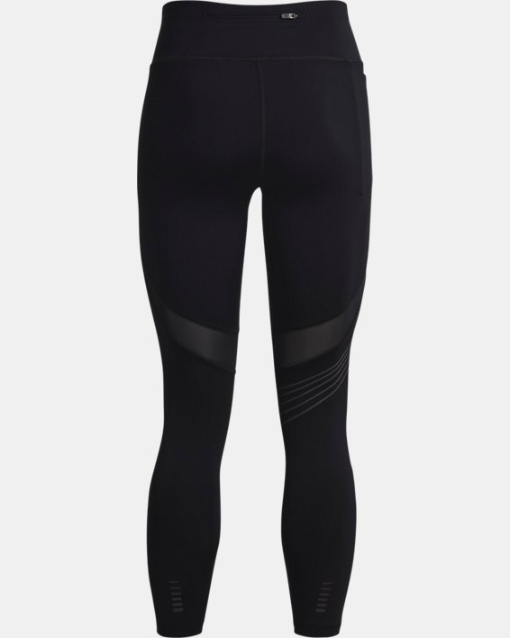 Women's UA RUSH™ HeatGear® Stamina Ankle Tights, Black, pdpMainDesktop image number 5