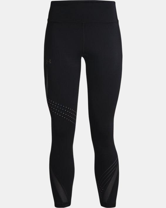 Women's UA RUSH™ HeatGear® Stamina Ankle Tights, Black, pdpMainDesktop image number 4