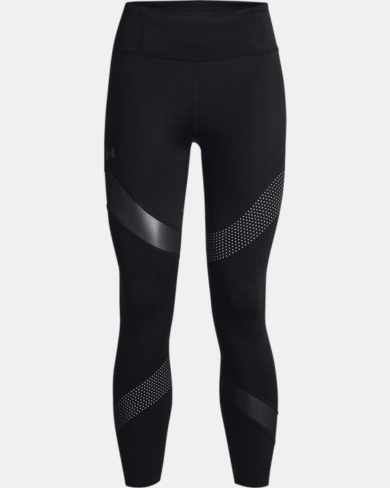 Women's UA Speedpocket Wave 7/8 Tights, Black, pdpMainDesktop image number 4