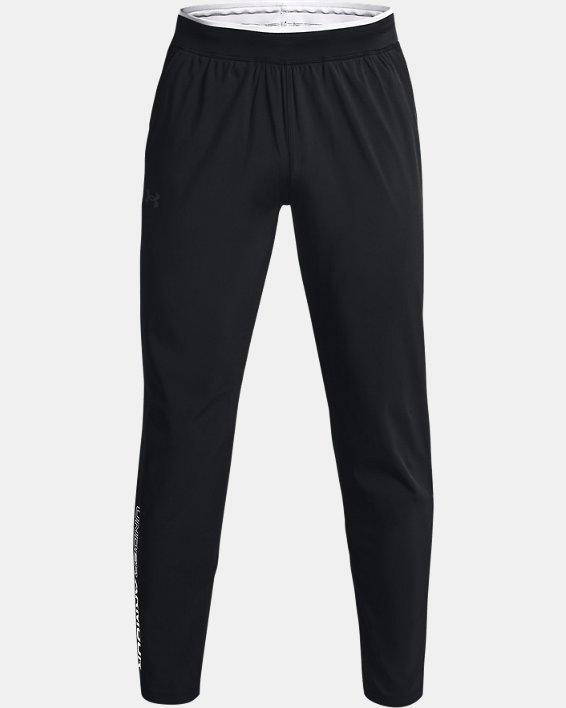 Men's UA Storm Run Pants, Black, pdpMainDesktop image number 3