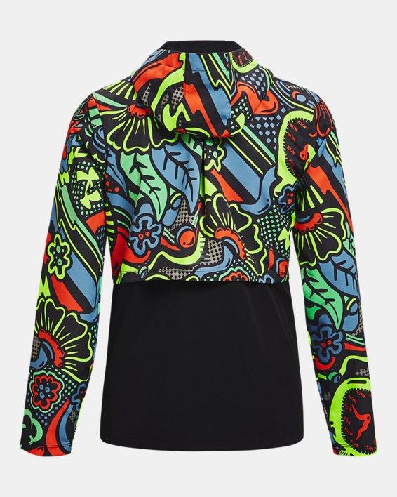 Women's UA Keep Run Weird Jacket, Black, pdpMainDesktop image number 5