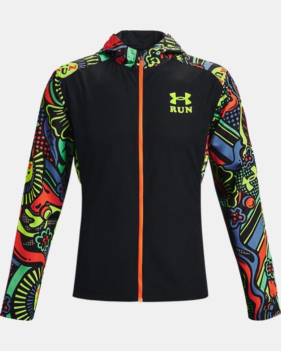 Men's UA Keep Run Weird Jacket, Black, pdpMainDesktop image number 6