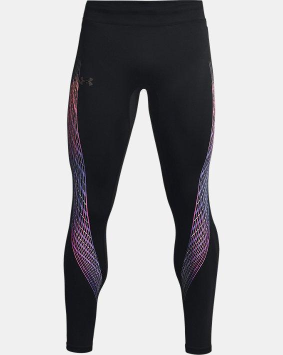 Men's UA RUSH™ HeatGear® Stamina Tights, Black, pdpMainDesktop image number 4